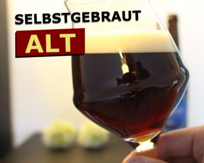 Alt Bier selbstgebraut