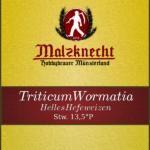Triticum Wormatia Etikett