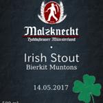 Irish Stout Etikett