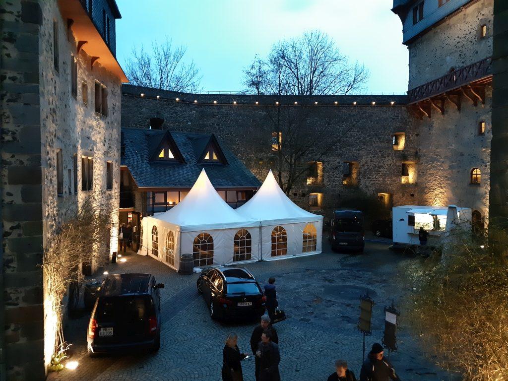 Schloss Romrod Hof
