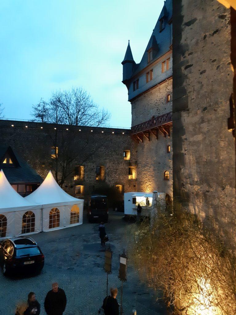 Schloss Romrod mit Zelt
