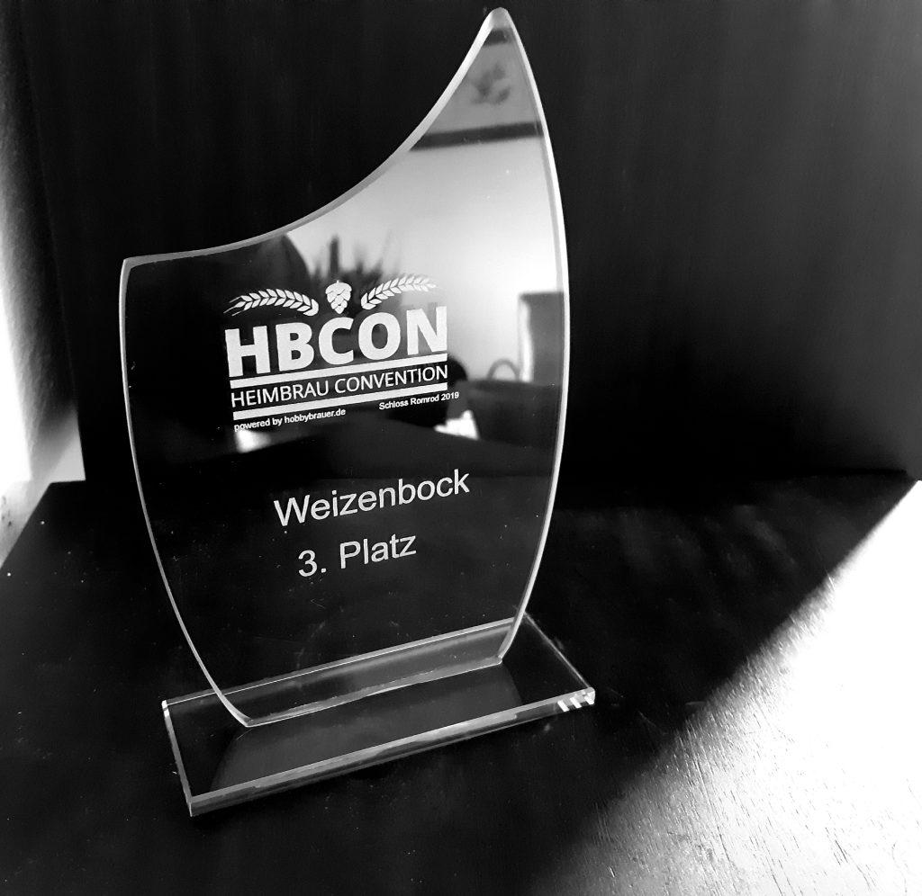 Pokal HBCON 2019