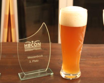 HBCON Weizenbock Platz 3