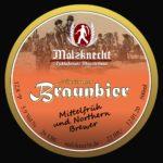 Etikett Braunbier