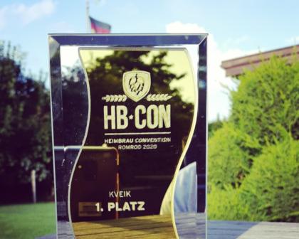 Kveik White 1. Platz HBCON