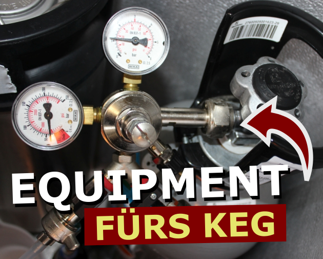 Equipment fuers Keg