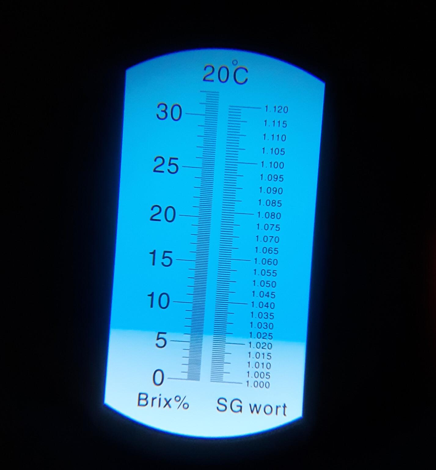 Refraktometer Stammwürze messen