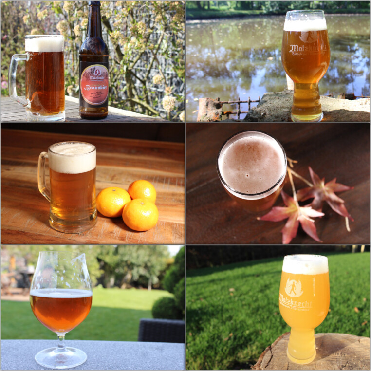 Fotoshooting mit Bier