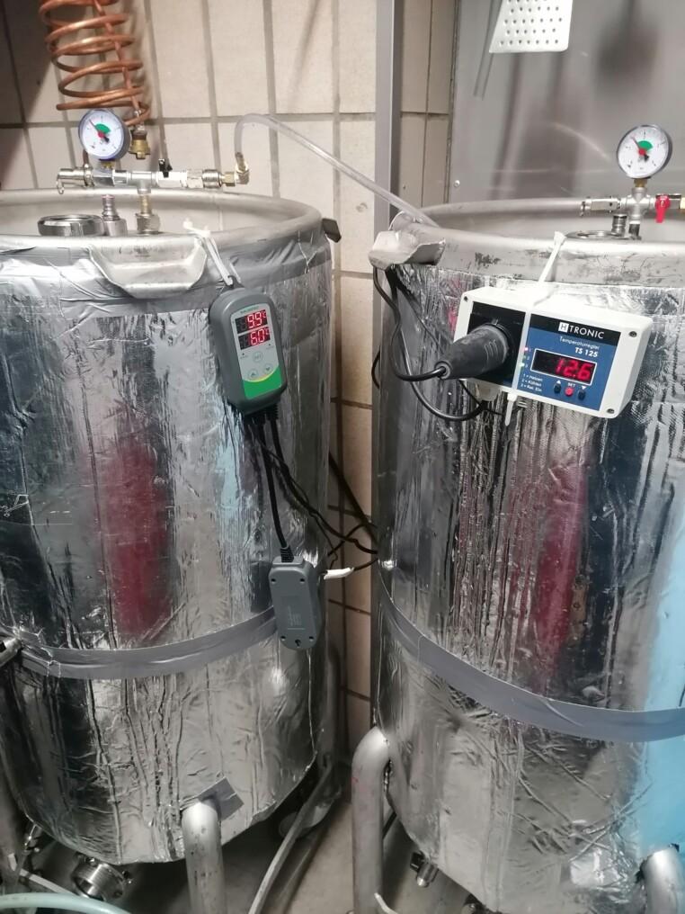 200l Gärtank mit Heizung und Kühlung
