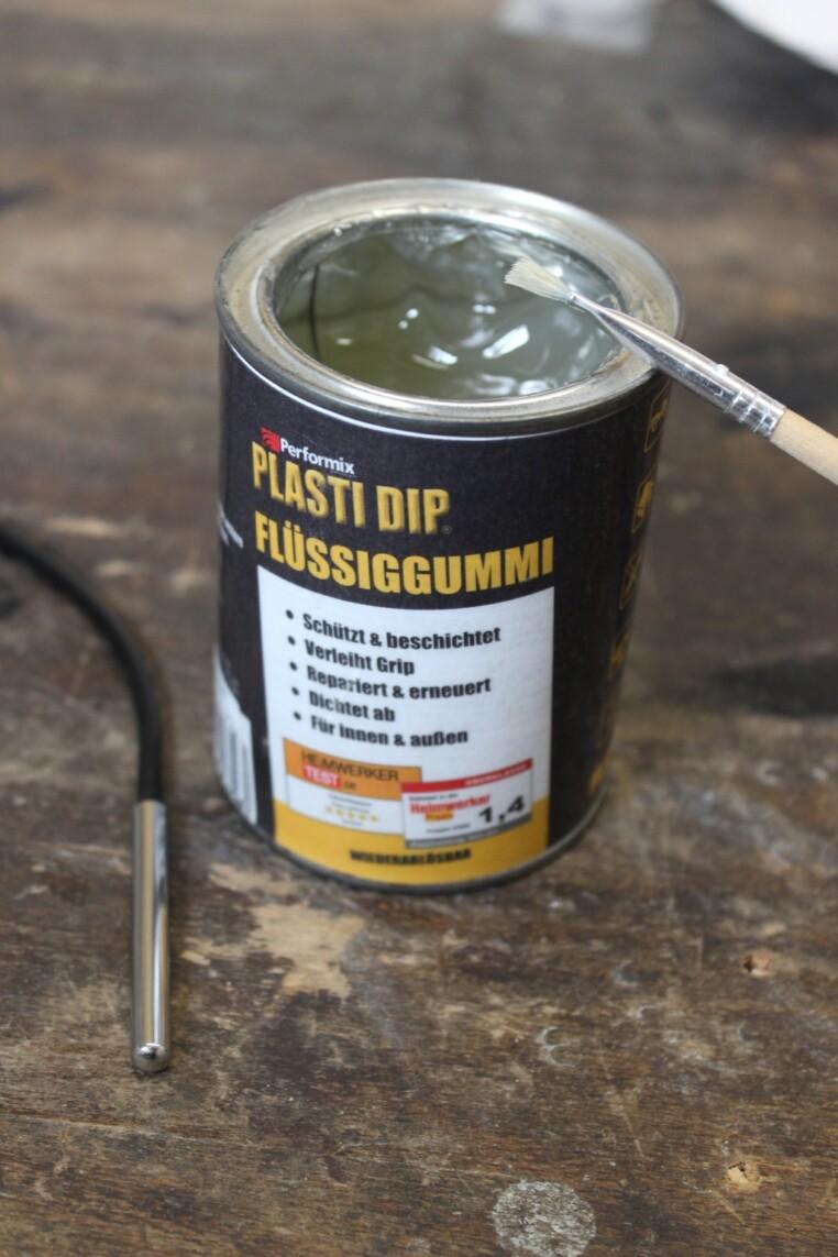Plasti Dip DS18B20 isolieren