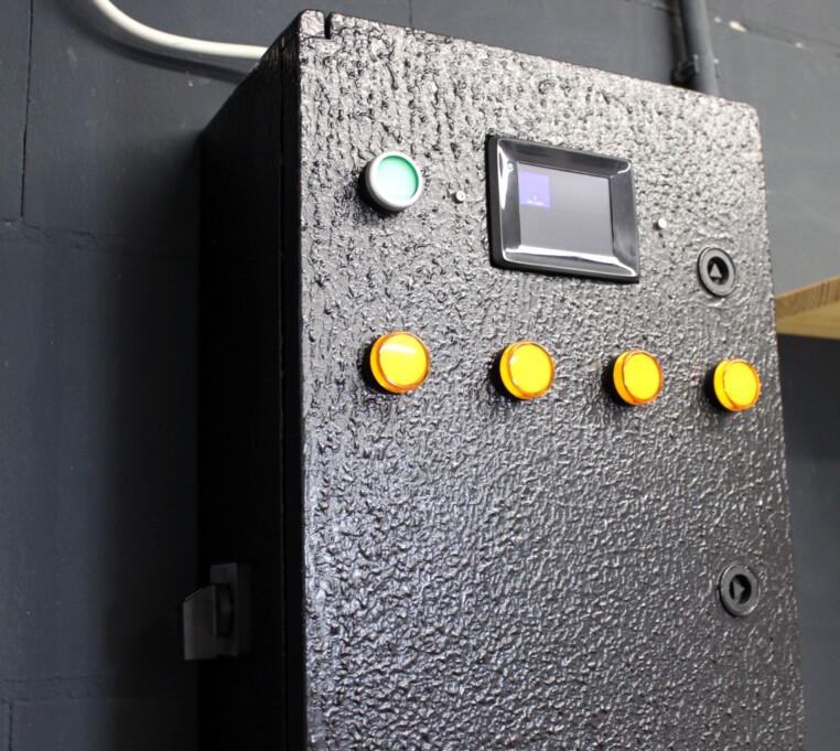 Schaltschrank Schalter manuellen Betrieb